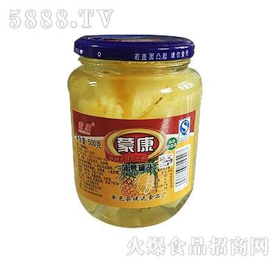 蒙康500g菠萝罐头