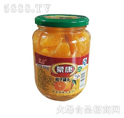 蒙康500g桔子罐头