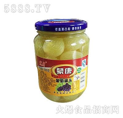 蒙康500g葡萄水果罐头