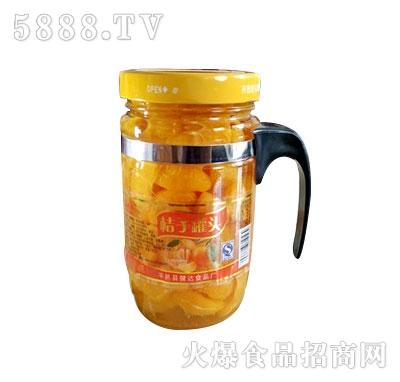 蒙康608g橘子罐头