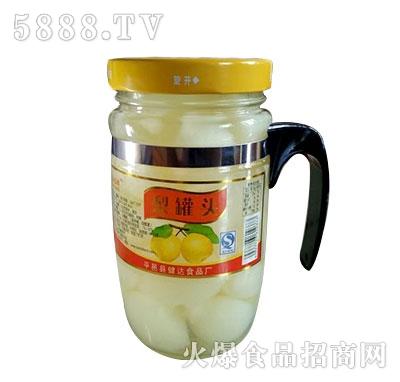 蒙康608g梨罐头
