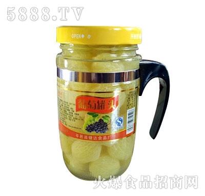 蒙康608g葡萄罐头