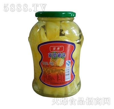 蒙康768g菠萝水果罐头