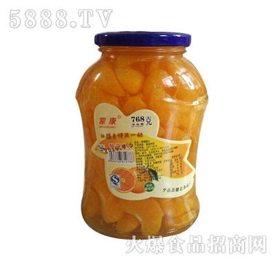 蒙康768g桔子水果罐头