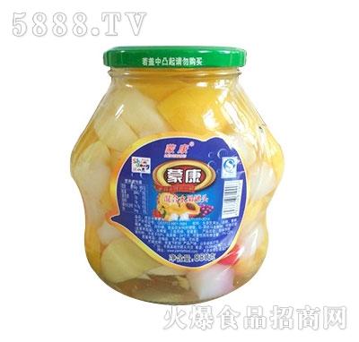 蒙康880g混合水果罐头