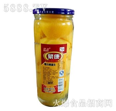蒙康950g糖水桃罐头