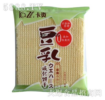 卡资豆乳威化饼干袋装