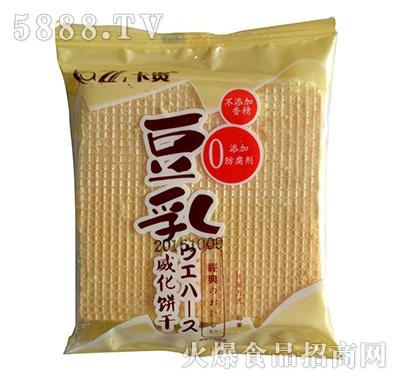 卡资豆乳威化饼干