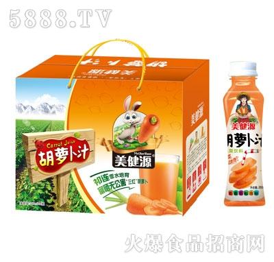 美健源胡萝卜汁蔬菜饮料360mlx8瓶