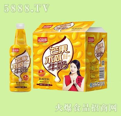 1.5lx6瓶益和源芒果木瓜牛奶乳味饮料