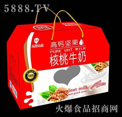 高钙坚果核桃牛奶手提