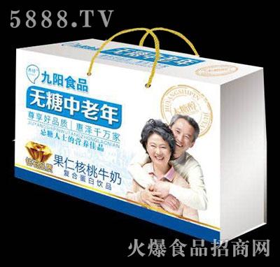 无糖中老年果仁核桃牛奶礼盒