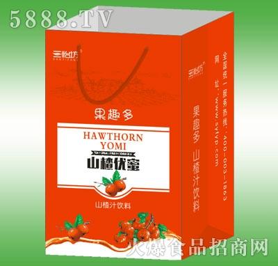三怡坊果趣多山楂优蜜山楂汁礼盒