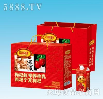 488mlx6盒富顺康枸杞红枣养生乳