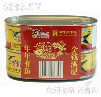 鹰金钱年年有余2罐组合装正面