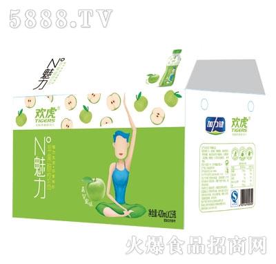 欢虎苹果醋饮品420mlx15(箱)