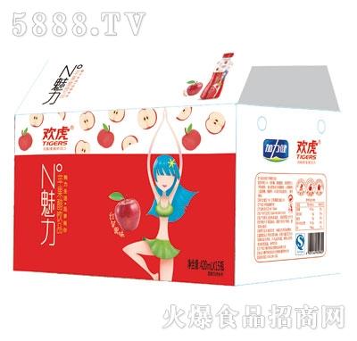 欢虎苹果醋饮品420mlx15