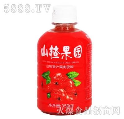 欢虎山楂果园山楂果汁果肉饮料350ml