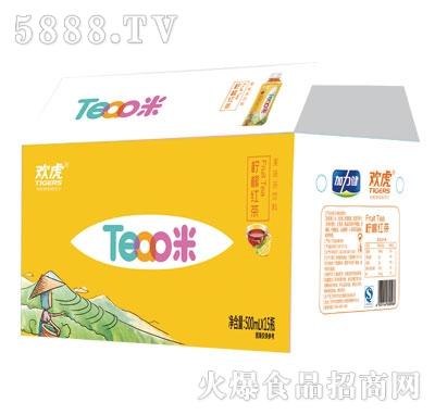 欢虎Tea咪柠檬红茶500mlx15
