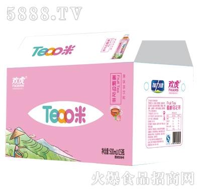 欢虎Tea咪蜜桃乌龙茶500mlx15