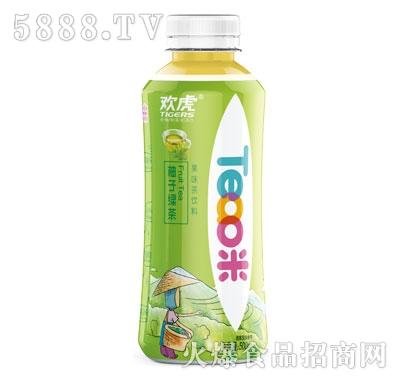 欢虎Tea咪柚子绿茶500ml