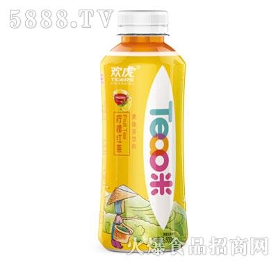 欢虎Tea咪柠檬红茶500ml