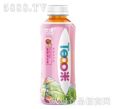 欢虎Tea咪蜜桃乌龙茶500ml