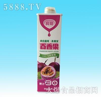 宾哥百香果果汁1L产品图