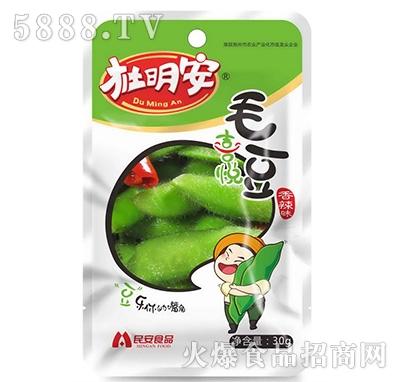 杜明安毛豆喜悦香辣味30g