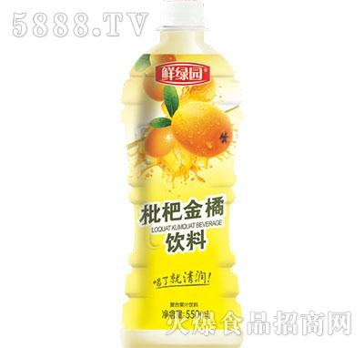 枇杷金橘饮料550ml