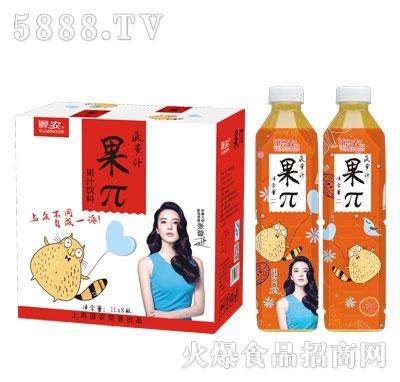 源农果π菠萝汁1Lx8