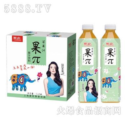 源农果π芒果汁1Lx8