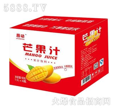 唇动芒果汁1.5x6瓶