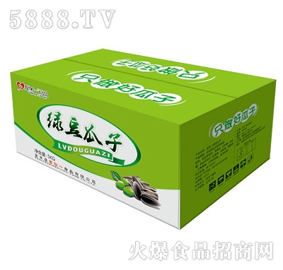 5kg爱加一绿豆瓜子箱装