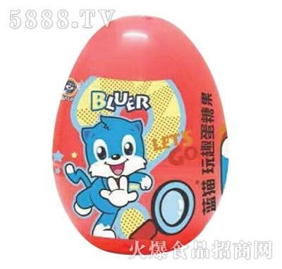 蓝猫玩趣蛋糖果
