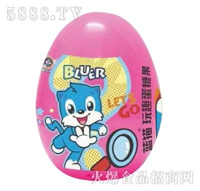 蓝猫玩趣蛋糖果粉色