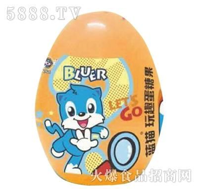 蓝猫玩趣蛋糖果黄色