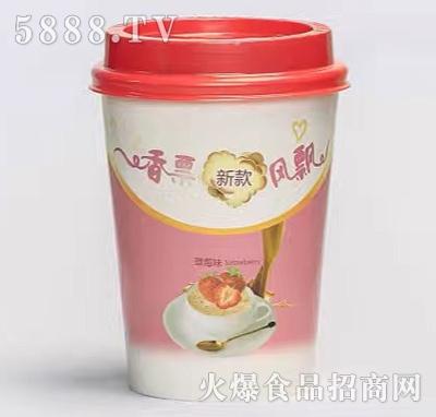 香票奶茶草莓味