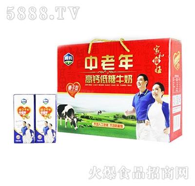顺有中老年高钙低糖牛奶礼盒