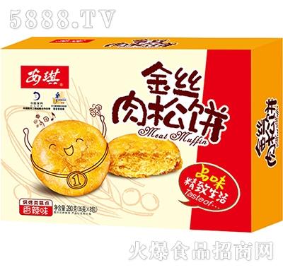 安琪金丝肉松饼(香辣味)210G