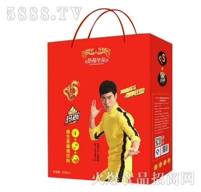 蔡都华荣龙魄+玛尚维生素植物饮料礼盒装