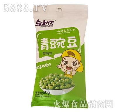 乌小倌青豌豆香辣味60g