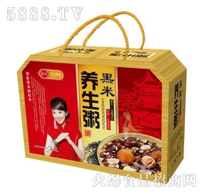 汇祥黑米养生八宝粥礼盒