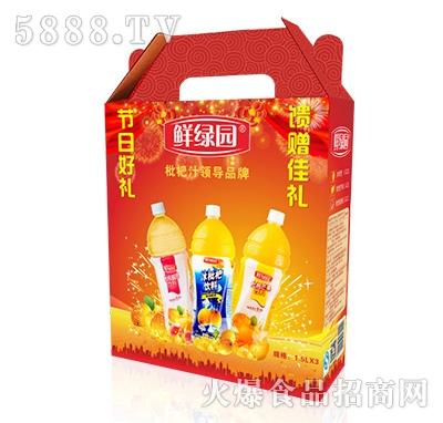 鲜果园枇杷汁饮料礼盒