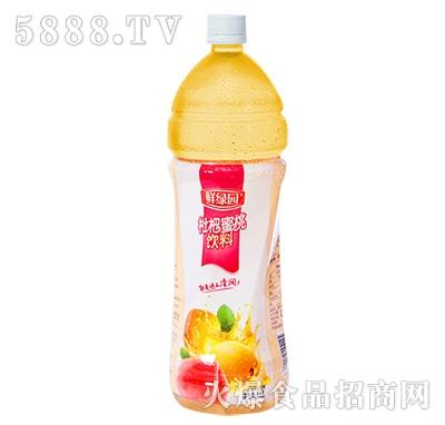 鲜果园枇杷蜜桃饮料1.5L