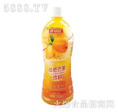 鲜果园枇杷芒果饮料550ml
