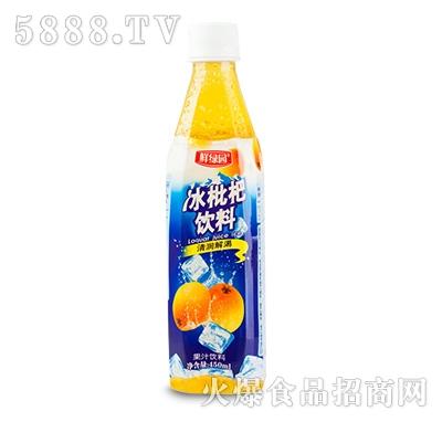 鲜果园冰枇杷饮料450ml