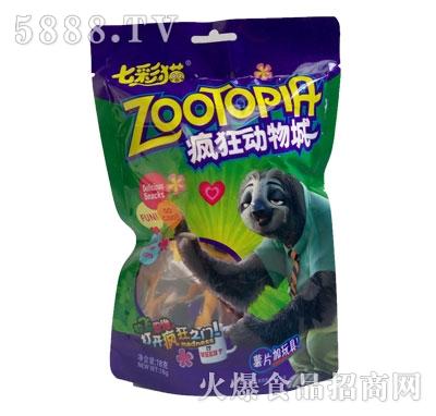 七彩猫疯狂动物城薯片加玩具18克
