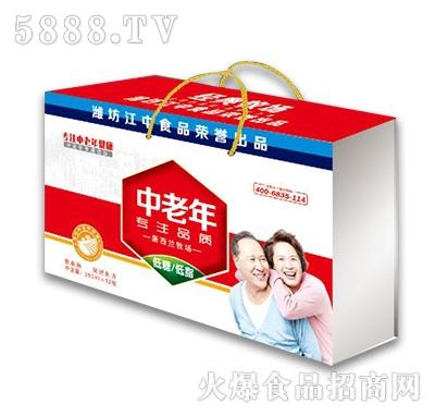 中老年低糖低脂饮品礼盒装
