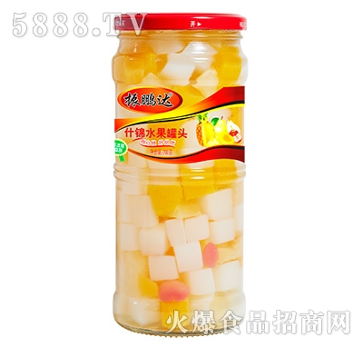 700g振鹏达什锦罐头